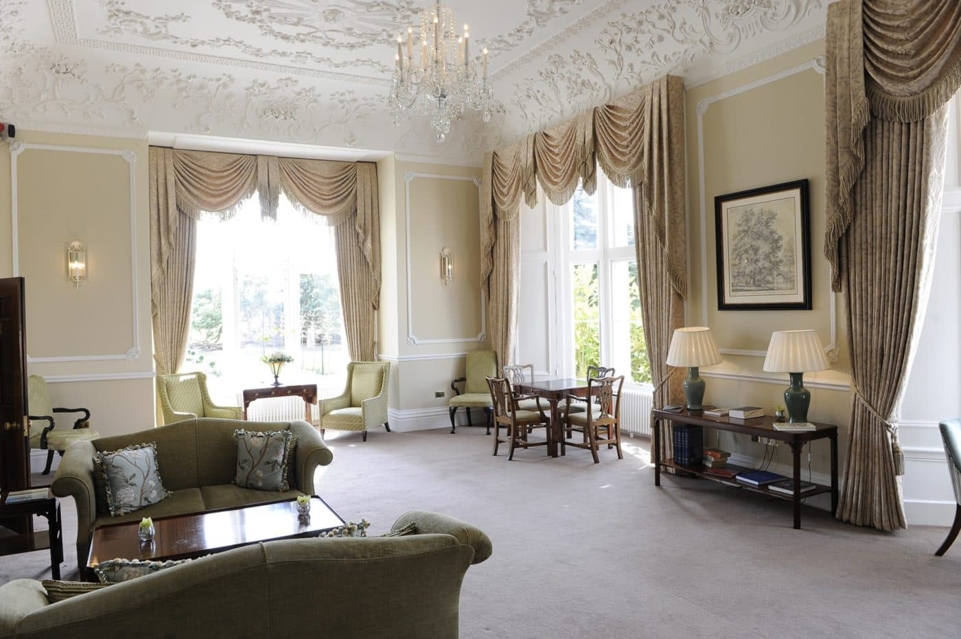 Wivenhoe House Drawing Room