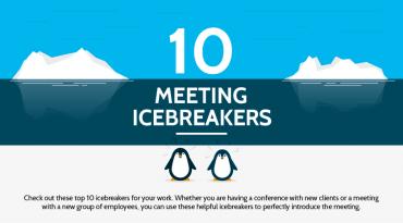 Ten meeting icebreakers
