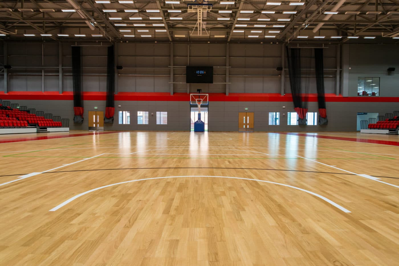 Essex Sport Arena floor