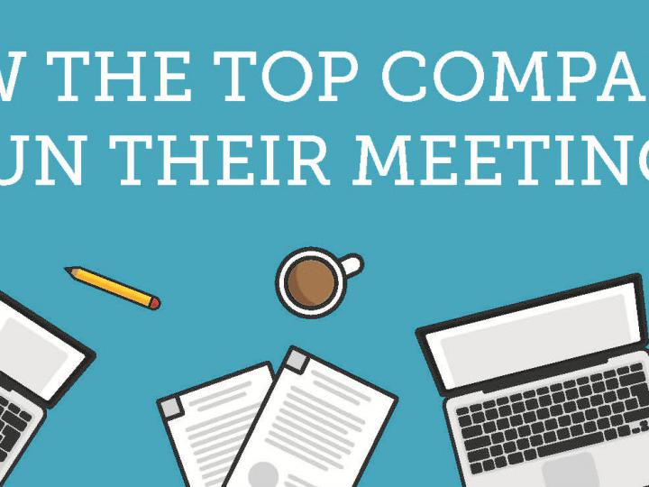 How the top companies run their meetings